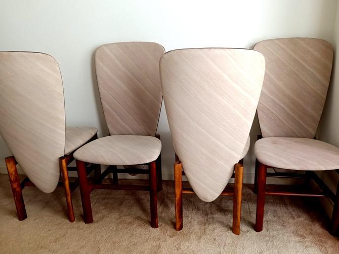 4 Skovby Post Modern Dining Chairs by ModernPicks