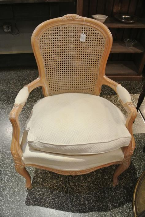 Caneback chair. $75
