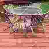 Midcentury Brown Jordan 7 Piece Patio Set