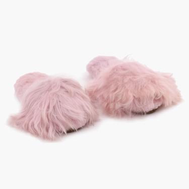 Suri Alpaca Slipper Light Pink