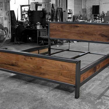 Kraftig Bed Number 4 with Side Rails by deliafurniture