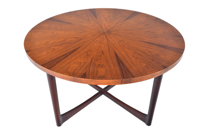 Mid Century Modern McIntosh Starburst Rosewood Coffee Table by MidCenturyMobler