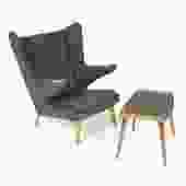 Papa Bear Chair and Ottoman