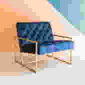 Lux Velvet Lounge Chair
