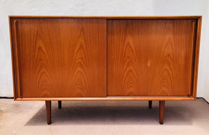 Vintage Danish Mid Century Teak Sideboard / Credenza by BentwoodVintage