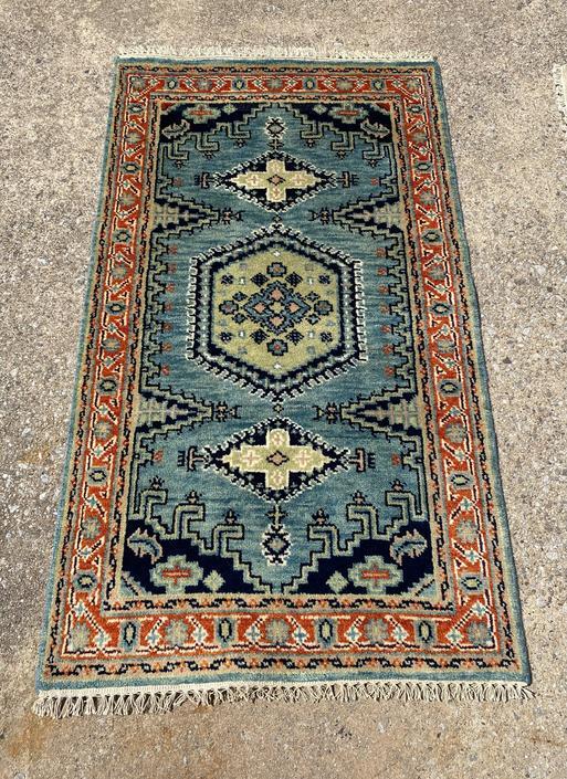 Oushak Rug, 5.1 x 3 feet