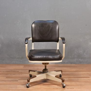 United Industrial Mid Century Tanker Desk Chair – ONLINE ONLY