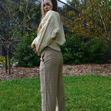 Vintage Y2k Pants / Vintage y2k trousers / vintage plaid trousers / low rise trousers / low rise plaid trousers / low rise pants / y2k pants by memoryjunkievintage