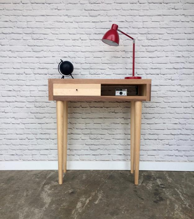 Wood Scraps Console Table by STORnewyork