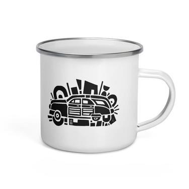 LCC 55: Woody Enamel Mug