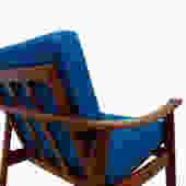Rare Pair of William Watting Danish Teak Easy / Lounge Chairs