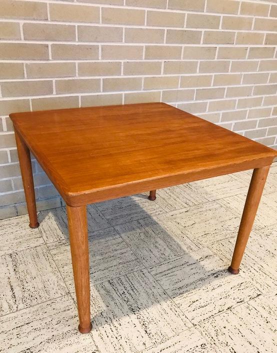 Vejle Stole Møbelfabrik Danish Teak Side Table by UrbanInteriorsBalt