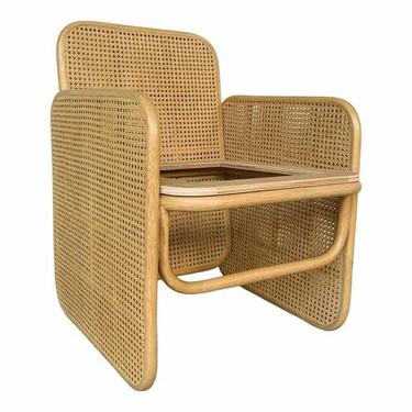 Jamie Durie for Baker / McGuire Tan Caned Panel Chair