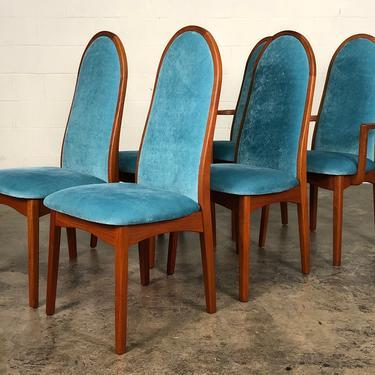 Teak Mid-Century Danish Modern Dining Chair <> Set Of 6 <> FREE SHIPPING by modernmidcenturyfurn