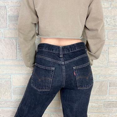 Y2K Levi's Low Rise Relaxed Straight Leg Jeans / Size 24 25 by NoteworthyGarments