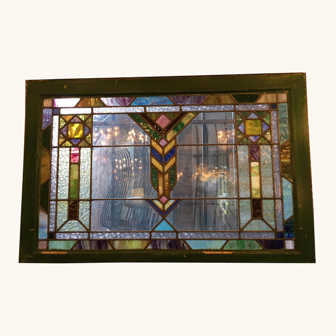 Large Colorful Stained Glass Window – more info coming soon