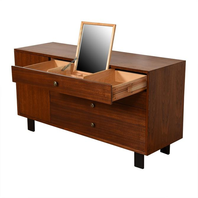 George Nelson MCM Walnut Vanity / Dresser for Herman Miller
