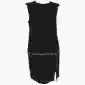 Alexander McQueen Zip-Off Detail Jewel Neck Dress
