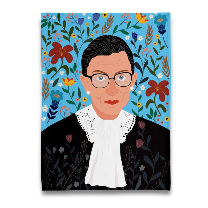RBG Ruth Bader Ginsburg Tea Towel