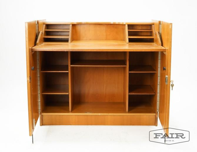 Teak Expandable Desk in a Box