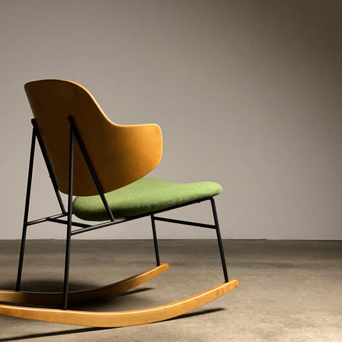 Kofod Larsen Penguin Rocking Chair by midcenTree