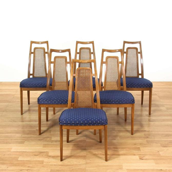 Awesome 6 Drexel Mid Century Modern Cane Back Dining Chairs From Dailytribune Chair Design For Home Dailytribuneorg