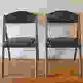 Mid Century Modern Folding Chairs by Coronet