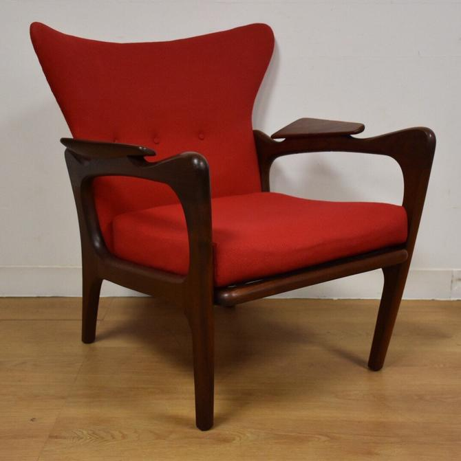 Adrian Pearsall Wing Back Lounge Chair by mixedmodern1