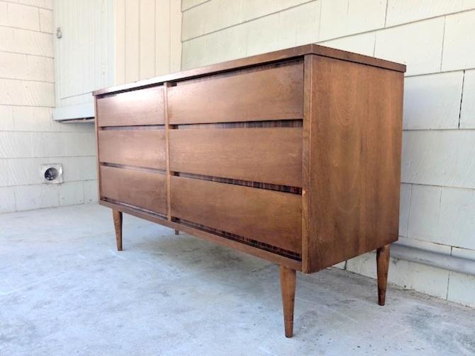 Midcentury Bassett 6 Drawer Dresser/Credenza