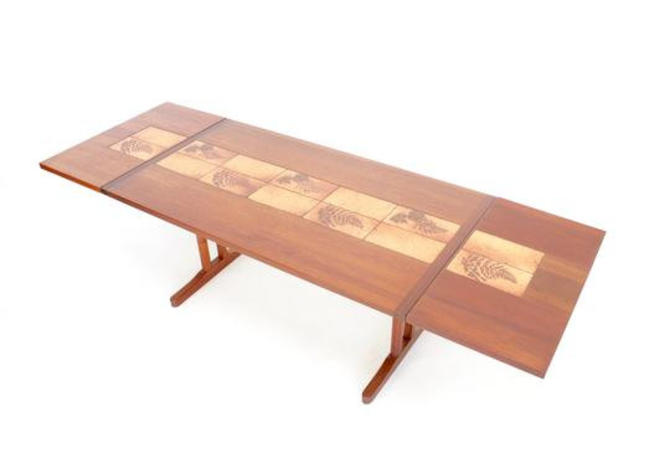Mid Century Dining Table by Ansager Mobler of Denmark... by SputnikFurnitureLLC