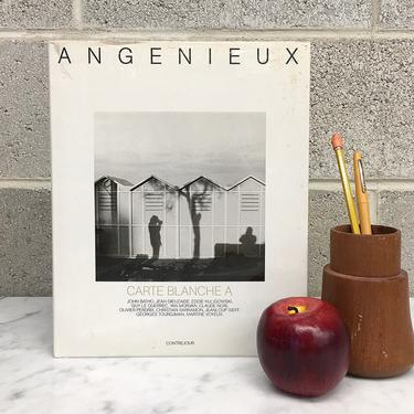 Vintage Angenieux : Carte Blanche Book Retro 1980s John Batho + Hardcover + Black and White Photography + French + BW Photo + Table Decor by RetrospectVintage215