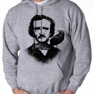 Edgar Allen Poe - Unisex Hooded Sweatshirt