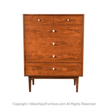 Mid Century Highboy Dresser Chest Kipp Stewart for Drexel Declaration by Marykaysfurniture