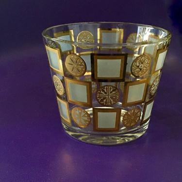 American Designer George Briard's Vintage Gold Designed Decorative Bowl by modern2120