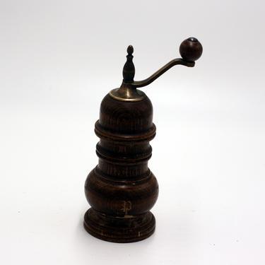 vintage Zassenhaus wooden pepper grinder/made in W. Germany by suesuegonzalas