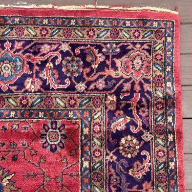 Turkish Rug 8' 9 x 11' 10 Magenta Sparta Farmhouse Rug by JessiesOrientalRugs