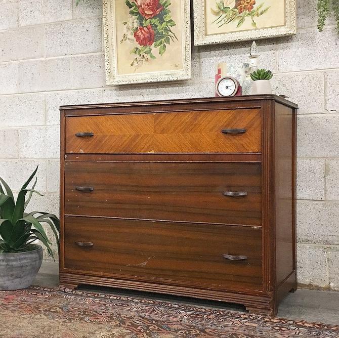LOCAL PICKUP ONLY -------------- Antique Dresser by RetrospectVintage215