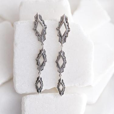 Sterling Silver Astra Earrings