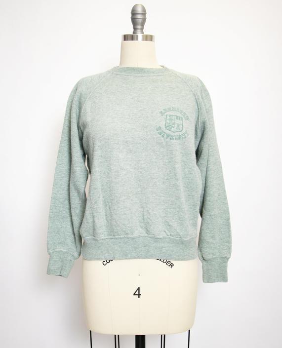 Vintage 1960s Sweatshirt Sage Green Aberdeen U Soft 60s Small S By Dejavintageboutique From Deja Vintage Boutique Of Edmonds Wa Attic