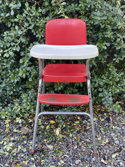 Vintage Mid Century Cosco High Chair by DesertCactusVintage
