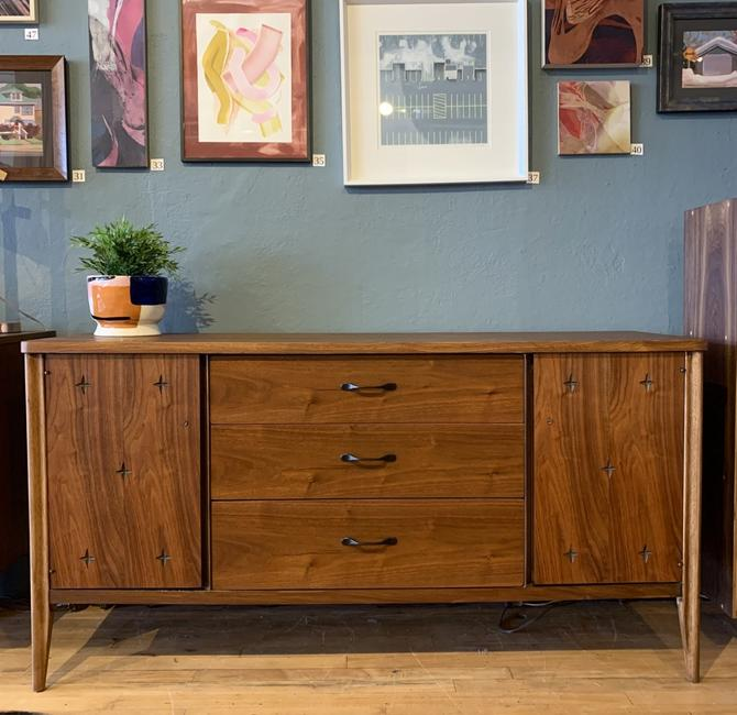 Refinished Mid-Century Sideboard by Broyhill Saga
