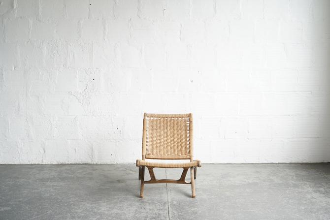 Woven Chord Lounge Chair