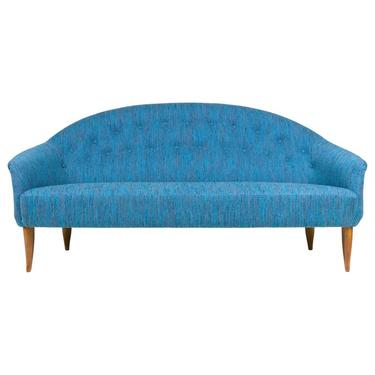 Blue Reupholstered