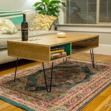 Cubby Coffee Table by EvansWoodshopDesign