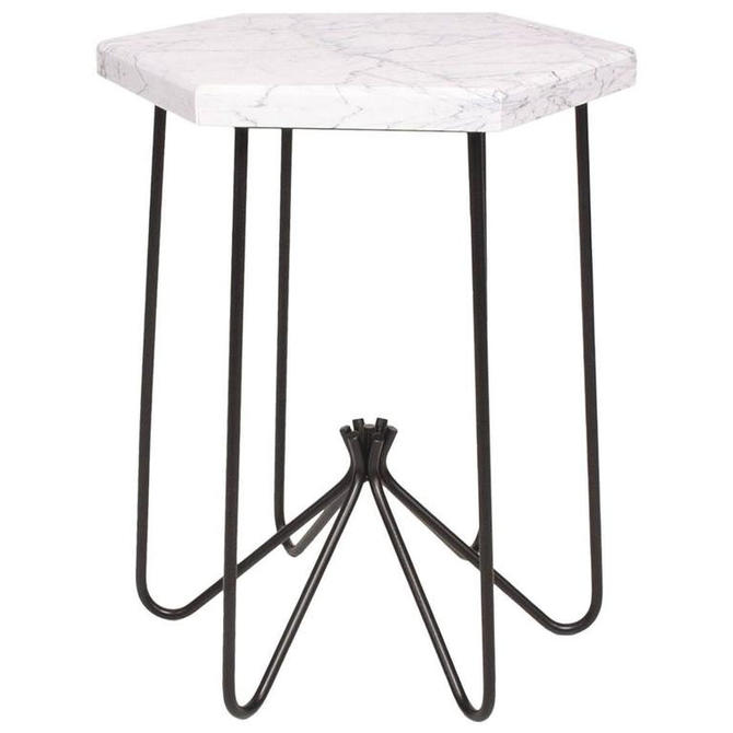 Mid-Century Modern Style Side Table Royere French Modern by AMBIANIC