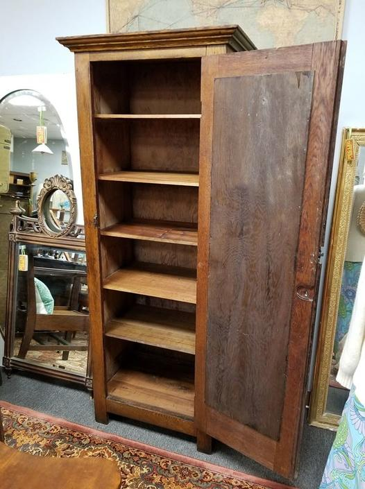 Antique linen closet