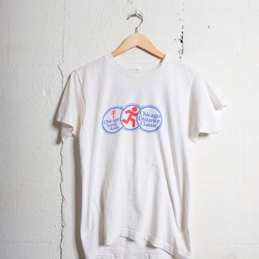 Vintage 80's Chicago lung association t-shirt. Soft! M 1563 by TCWOnline