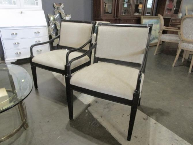 PAIR OF TRADITIONAL ARM CHAIRS PRICED SEPERATLEY