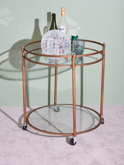 Bronze Bar Cart