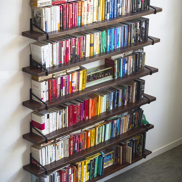 Custom Wall Shelving by EvansWoodshopDesign